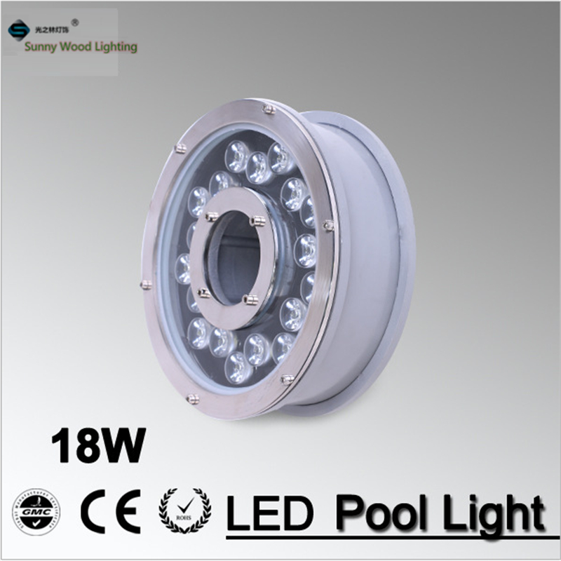 RGB fountain light , LED pool light Waterproof IP68 RGB Landscape Pool Lamp 16 Colors Change 18W ,24V AC LPL-B-18W-24AC