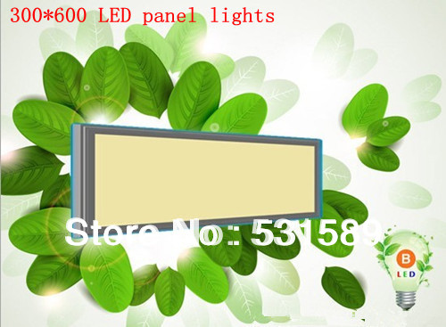 2PCS 42W 600*1200  Square smd  led  panel light Cool White/Warm White AC85-265V For kitchen led light bathroom light
