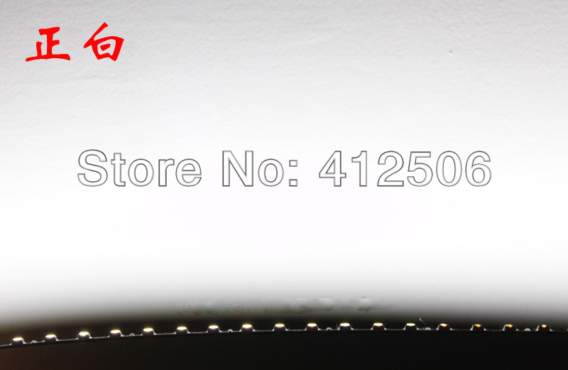 50CM  4mm wide 51LED 12V DC utra slim rigid LED strip lights lightbox showcase aquarium plant grow light red blue green white