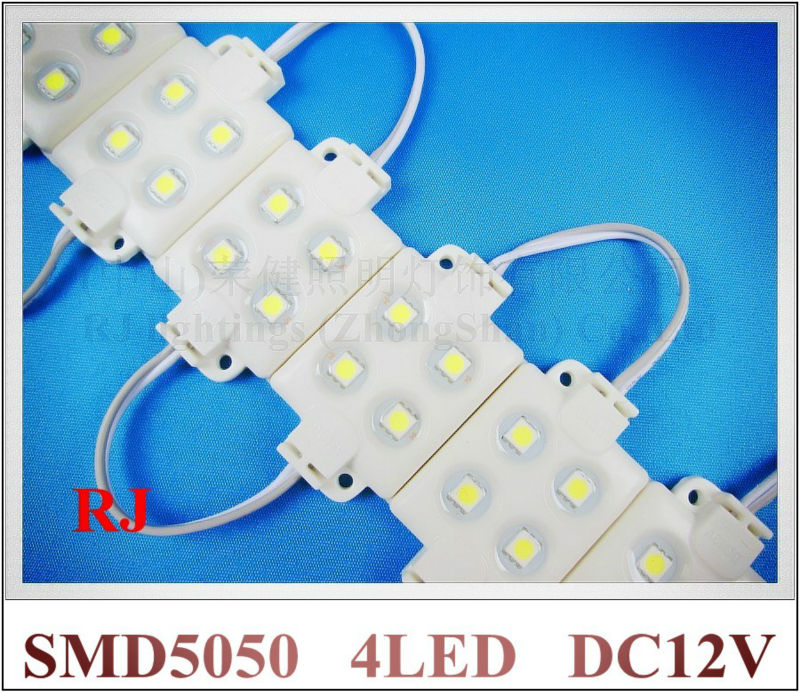 super quality high bright injection LED module waterproof LED backlight 5050 LED pixel modules DC12V  IP66 best price