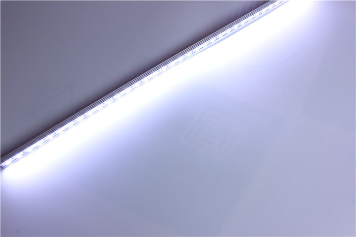 10pcs/lot  5050 LED Bar Light White Warm White 36LED/0.5M SMD Cabinet LED Rigid Strip DC 12V Showcase LED Hard Strip