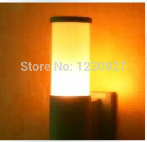 3W LED outdoor Garden lights corridor lamp Single head acrylic waterproof aluminum tube wall lamp