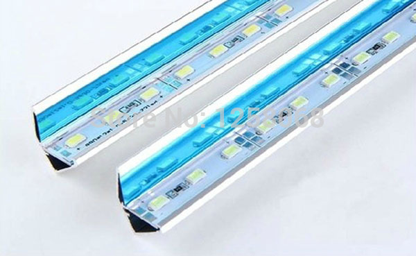 5050 led hard bar aluminium profile 1M 72 12V LED Strip Bar Light industrial aluminium profile tiras led warranty 1 years x 10m