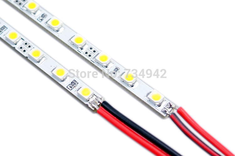Super Slim 19.7 inch 4mm SMD3528 Warm White Rigid LED Strip lighting 60LEDs LED Rigig Light for Light Box LED Rigid Strip Light