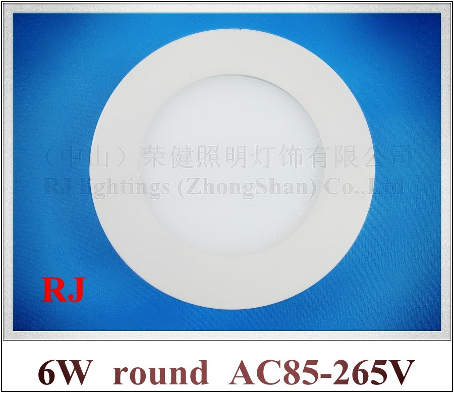 Surface Mounted round shape LED panel light lamp LED ceiling light panel 6W SMD2835 30led high brightness round Surface Mounted