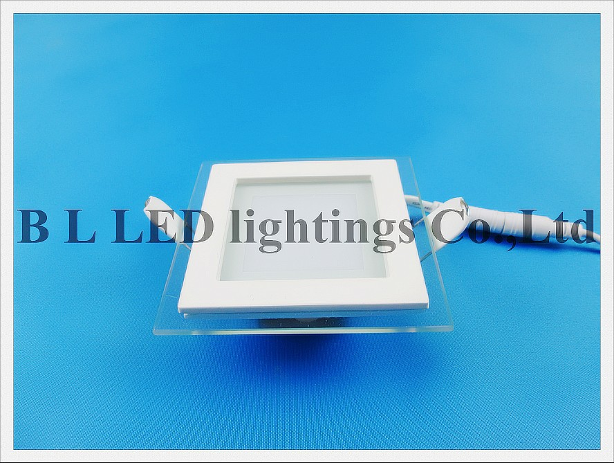 led panel light with glass square 6w (1)------ led tube module ceiling panel flood bulb light lamp ------
