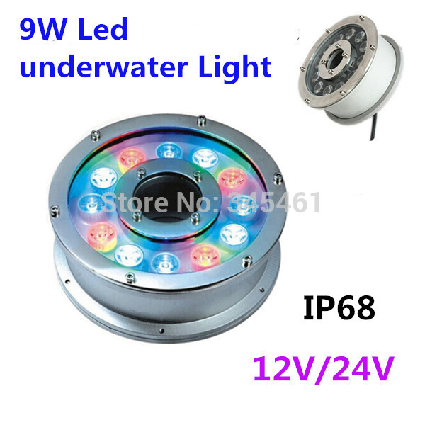Led Lamps Led Underwater Lights Free Shipping Clearance Price 12w Led Underwater Lamps Swimming Pool Light Ip68 Waterscape Light 24v
