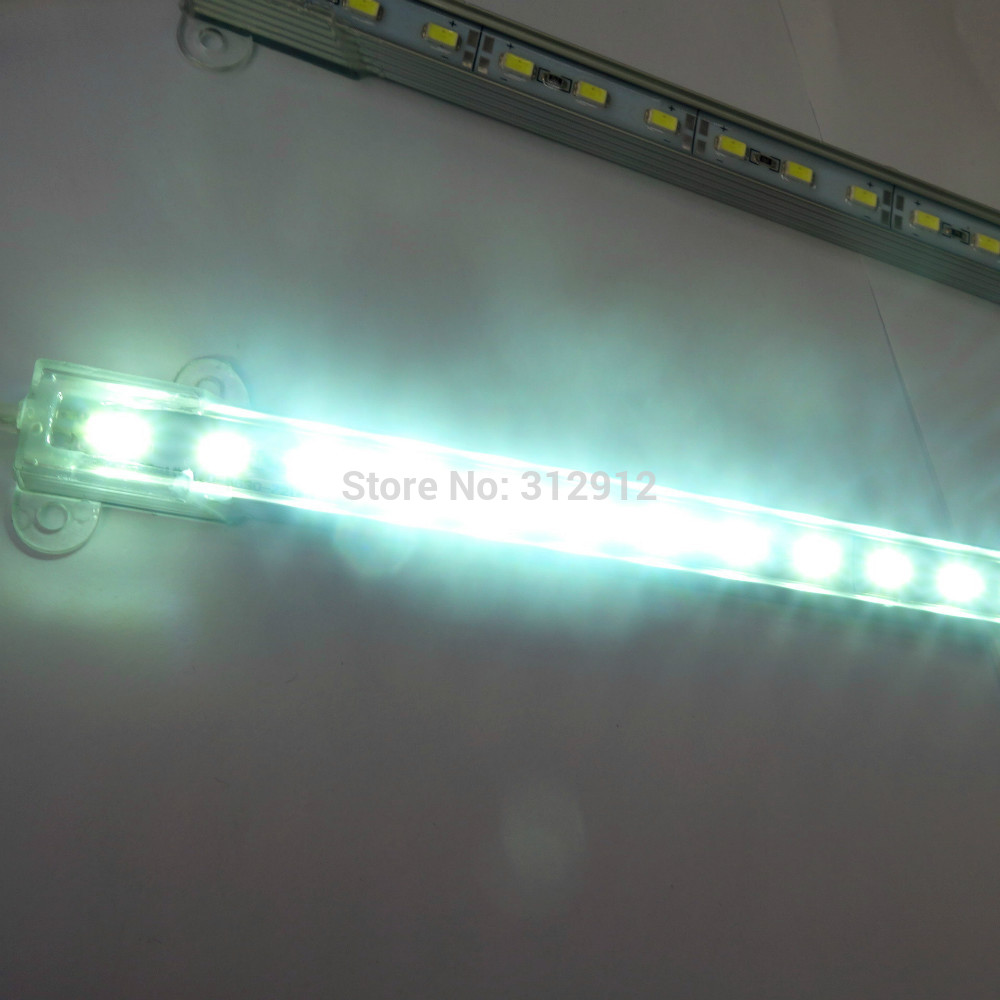 1M long 5730 SMD IP68 Aluminum Led WHITE color rigid bar;72leds;DC12V input