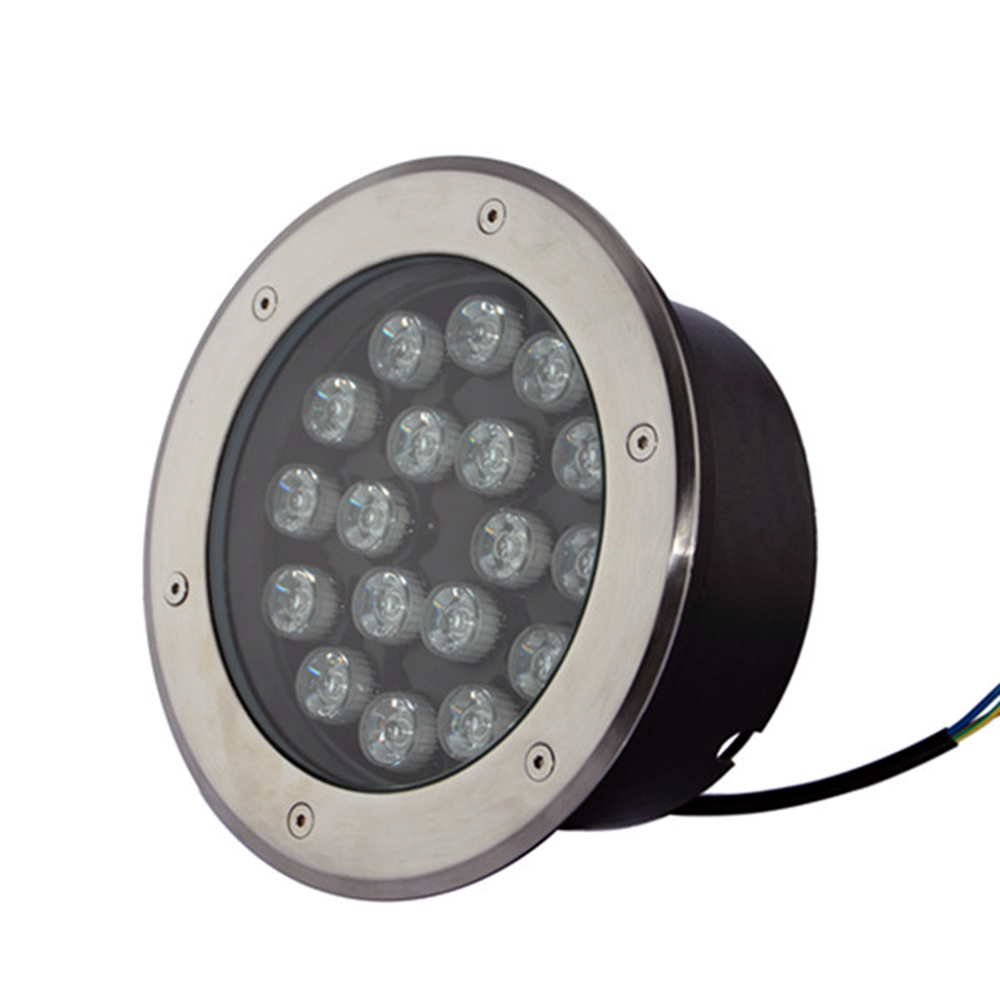 IP67 waterproof AC85~265V voltage input 15W LED Underground Light,  Green/Warm White/White color Available