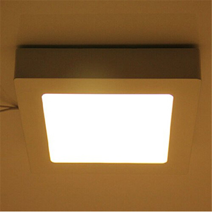 6W 12W 18W 24W LED Ceiling Light Square Surface Mounted LED Panel Light SMD2835 Indoor Lighting For Bathroom Kitchen Office