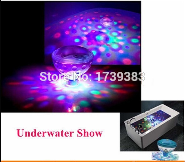 20pcs/lot Wholesale 6V 3AAA Underwater LED Aquarium Light Show for Pond Bathtub Spa Hot Tub Disco LED Swimming Pool Light