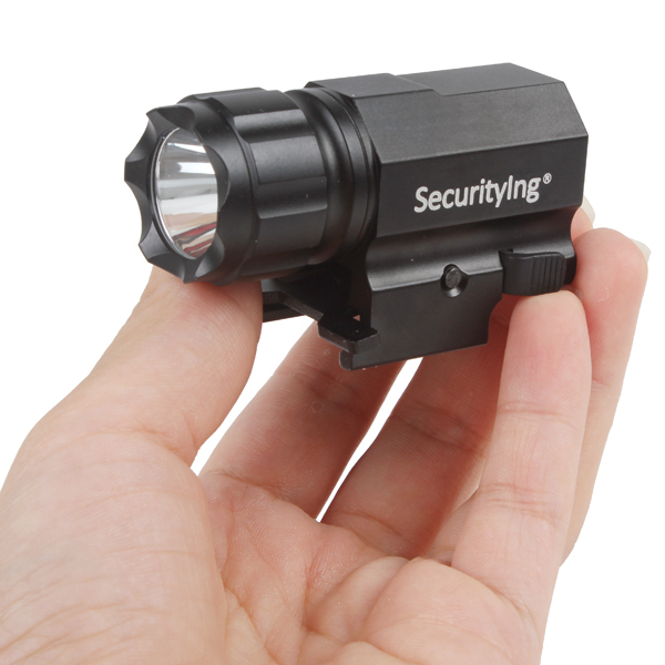 hot SecurityIng 600 Lumens R5 LED Tactical Gun Flashlight P05