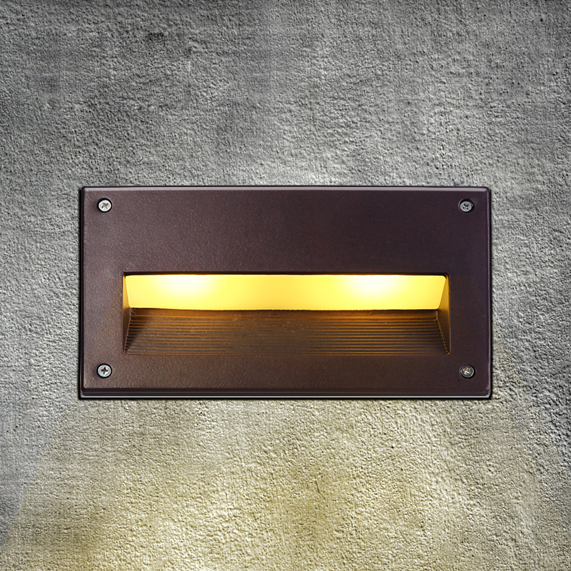 Led Recessed Wall Light Outdoor Waterproof Ip54 Modern