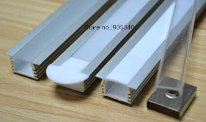 50M/LOT led rigid bar aluminium channel, led tape strip aluminium profile,alu housing,7020,5630  led rigid bar 1105