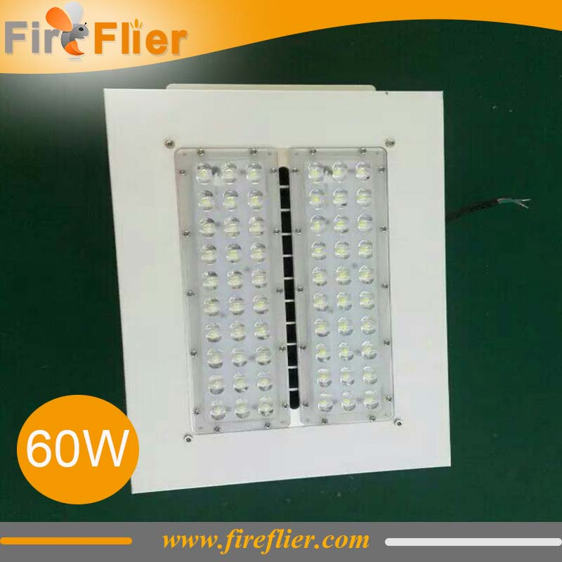 3pcs/lot 60w 100w 120w led canopy lamp recessed gas station led light retrofit 150w 200w 3000K 4000K 5000K 6000K store light