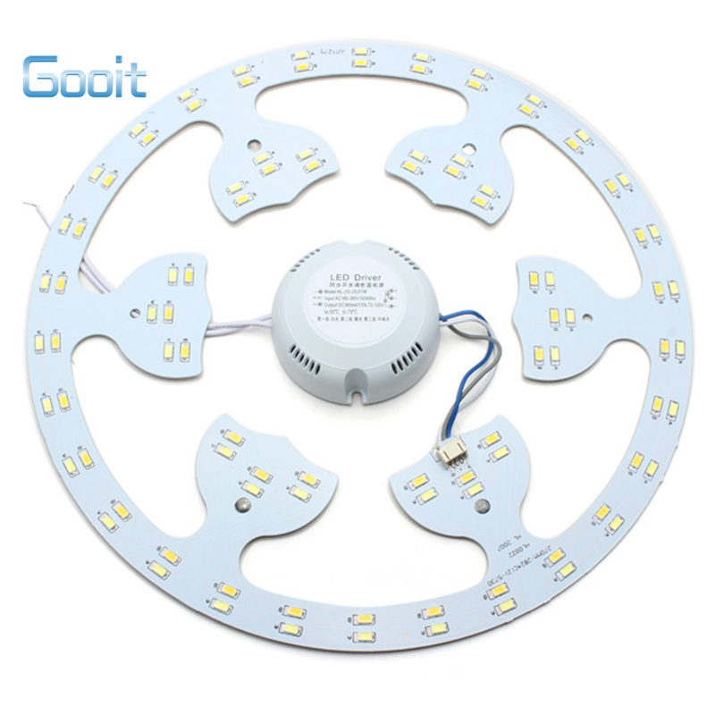 LED 24W Panel Board Ceiling Lamp Chip Light 220V With Transformer And Magnet