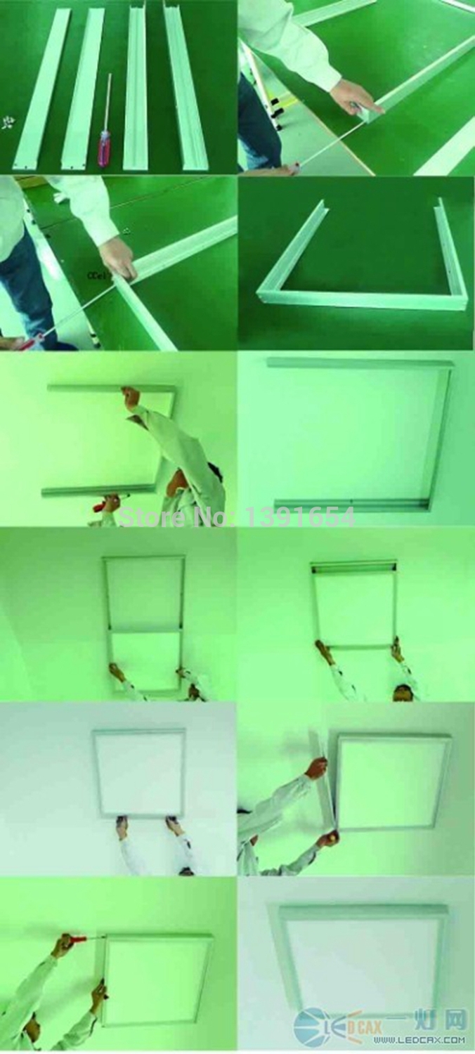 ceiling mounted frame for panel light installation accessories ceiling mounted installation wall mounted led panel