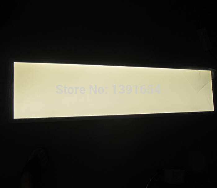 54W 300x1200MM Recessed LED Panel Light AC85-265V SAMSUNG 5630 Square Mounted Ceiling Light  2700-7000K Color