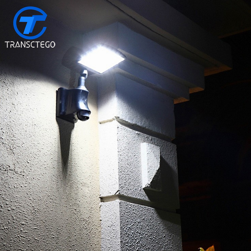 Highlight 40W solar floodlight body induction lamp outdoor wall lamp wall lamp body courtyard balcony garage