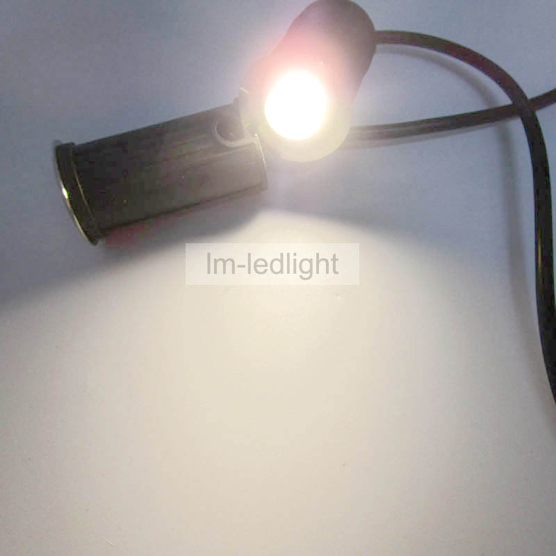 Mini floor lamp 12V 1W dia42mm*H70mm stainless steel LED underground light Bridgelux 140~160lm/W jardim light