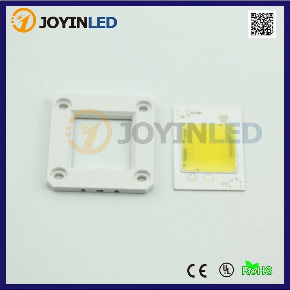 100PCS 220VAC Compact light engine high power COB led chip 30w driverless led module