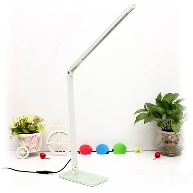 7W Flexible 48 LEDS SMD 2835 Desk lamp Energy Saving Adjustable Table Lamps Reading Light students bulbs