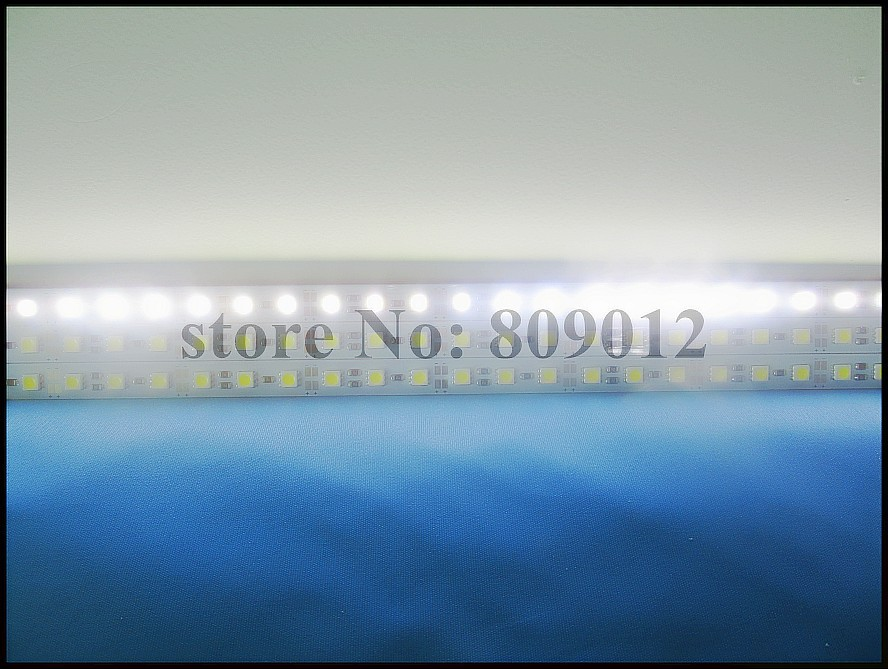 LED rigid strip light SMD 5050 LED light bar LED cabinet light 1000mm*12mm*1mm 60 led SMD5050 DC12V 14W cool white / warm white