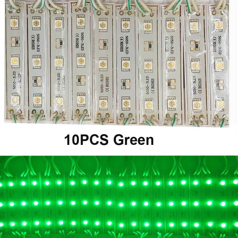 80PCS 5050 3LED Module lighting DC12V Waterproof led modules,Cold cool White / Warm white
