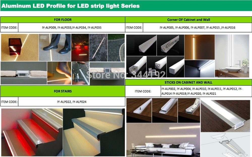 Free Delivery Cost 2M/PCS 27Pcs/lot U shape aluminum profile led aluminum groove with Cover set and PC cover & Clip for led bar