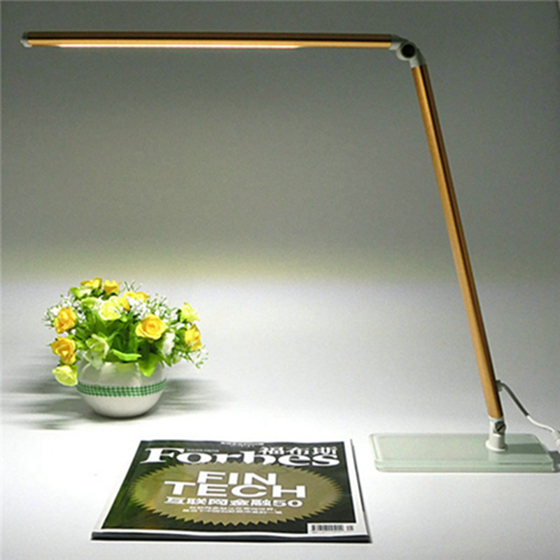 48 LEDs Touch On/off Switch Desk Lamp adjusted brightness Dimmer Foldable Rechargeable Led Table Lamps Reading Light