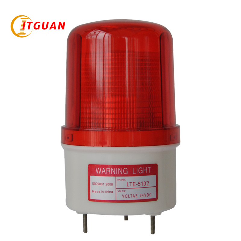 LTE-5102 AC/DC12V-380V LED Flashing Warning Lamp Alarm Fireman Vehicle Industrial Emergency Strobe warning light