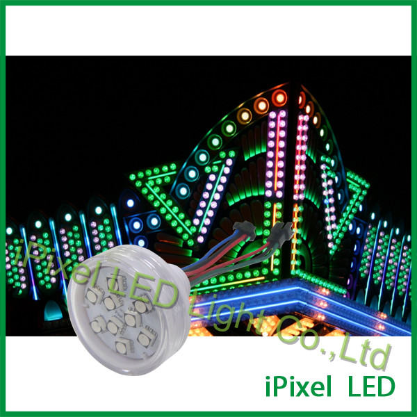 45mm led pixel lights for carousel Ferris wheel Entertainment