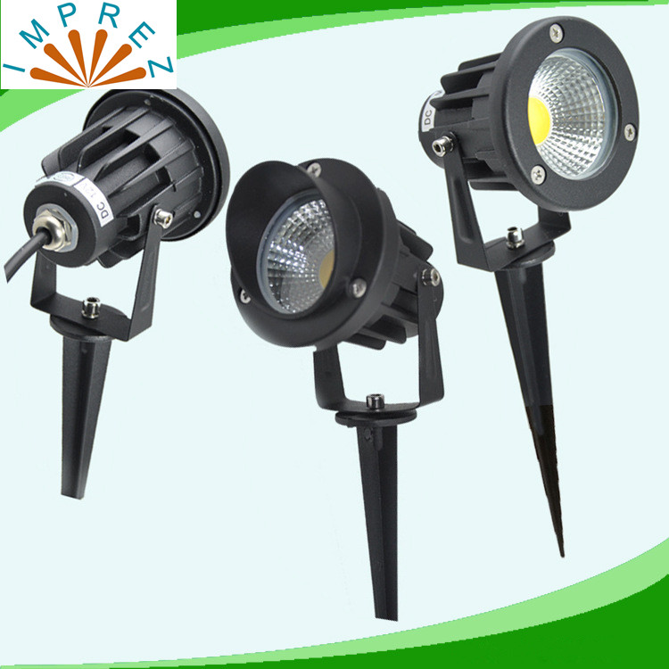 New 7w led outdoor Landscape light AC/DC12V cob led lawn lamp IP65 landscape light 3 years warranty 50watt equivalent