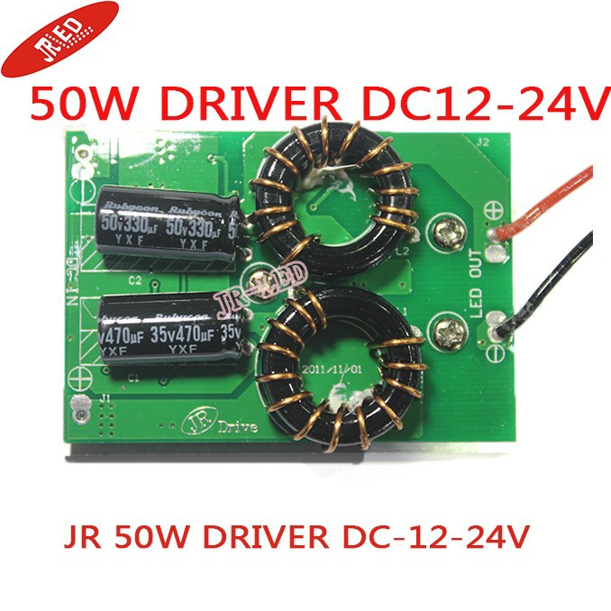 12V Driver adaptor power supply for 50W led high power led light lamp DC-12-24V to 30~36V