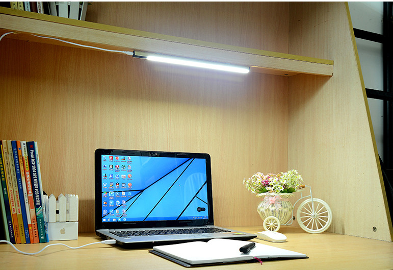 Coolbi Dimmable 3-in-1 Colors Cold Warm and Natural Desk Reading Lamp for Kids/ Home/ Office co-friendly ABS Heat Sink