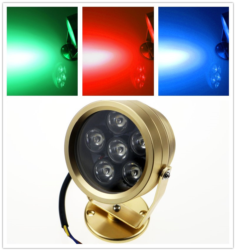6w 12V Underwater LED Swimming Pool light  Piccina LED Underwater lights Outdoor lamp Waterproof IP68