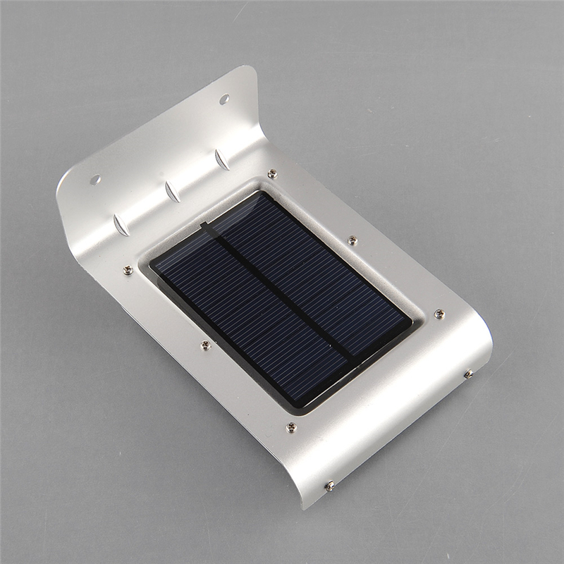 4PCS/LOT LED Solar Sensor Light 16 LEDs Outdoor Wireless Solar Powered PIR Motion Sensor Light/ Wall lamp/ Security lights