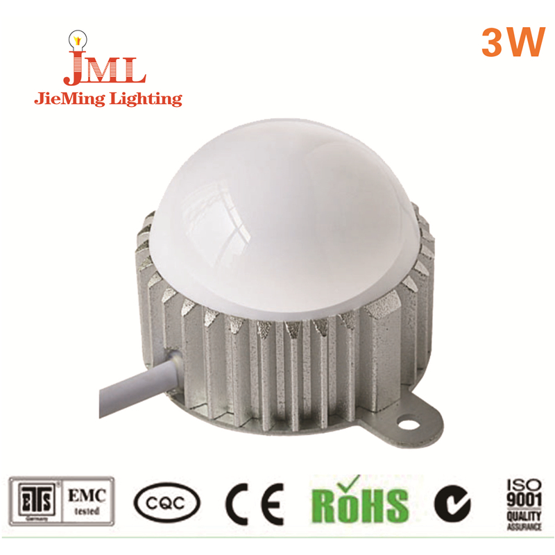 LED point light waterproof  Red green blue yellow  warm white  white colormodules light ac led ceiling