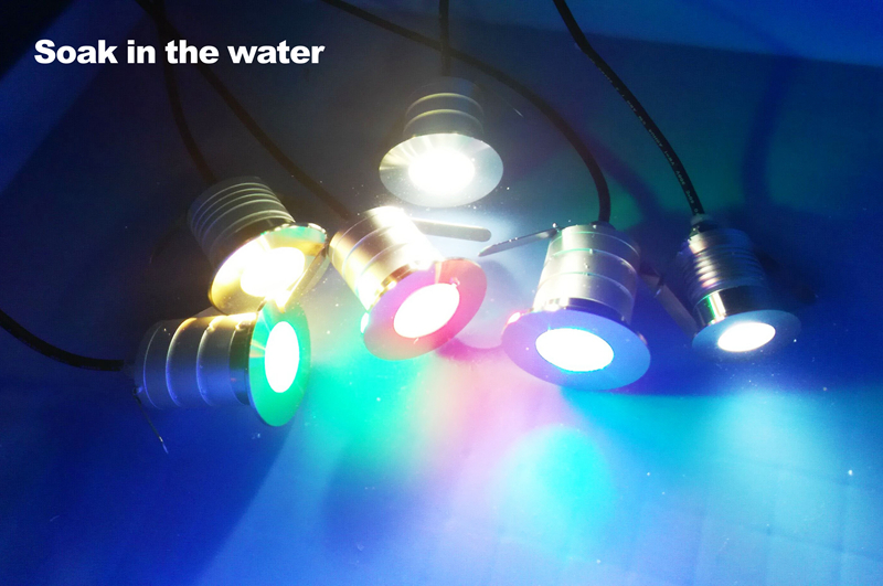 12V 24V 3W COB LED Underground Light Stainless Steel IP67 Waterproof Buried Lamp Outdoor Lighting 10pcs/lot Freeshipping
