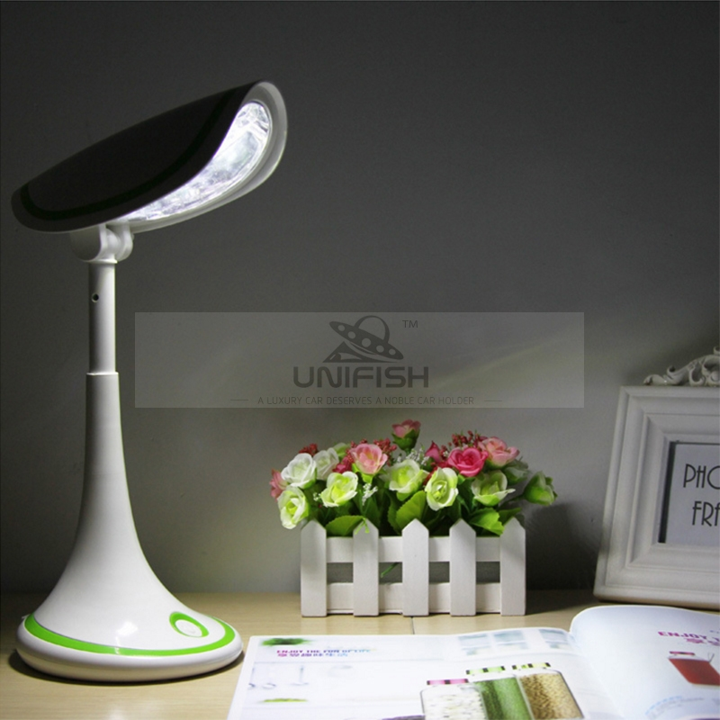 YAGE 5916 Rechargeable LED Table Lamp 22 LEDs Big Space Touch Sensitive Adjustable Brightness Eye-protective Desk Lamp