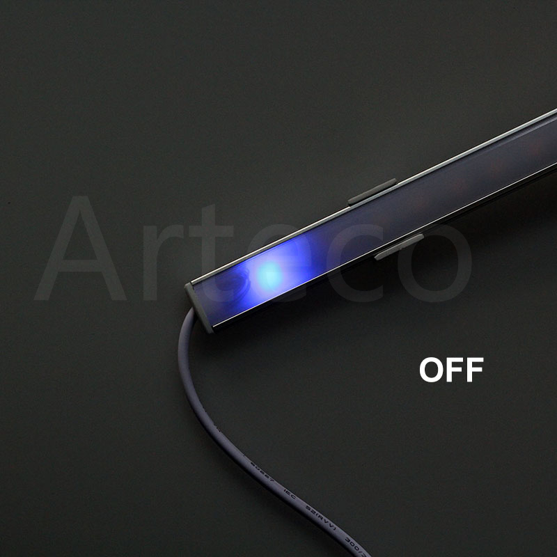 DC12V Touch Sensor LED Bar light Dimmable 50cm Ultra thin LED Tude Hard strip light white/warm white