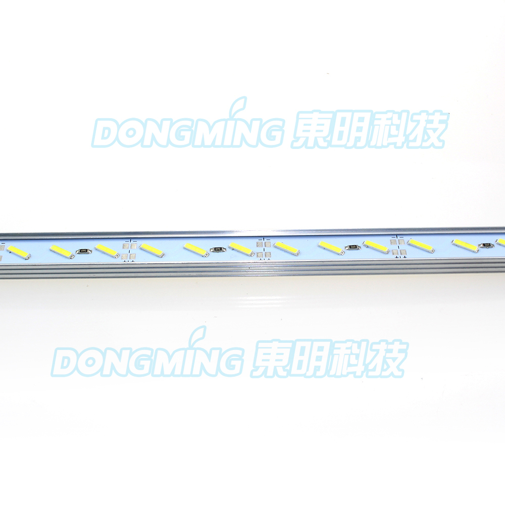 5pcs 100cm 18W 8520 SMD 72leds non waterproof DC 12V Luces Strip Cabinet Bar Light white/warm white With U/V groove shell
