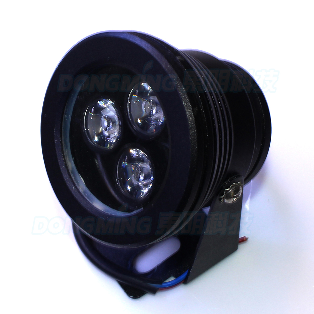 Dynamic Dc12v Underwater Swimming Pool Lights Red Blue Green Ip68 Waterproof 3w Led Underwater Lights Fountain Pond Lights Plane Lens Led Lamps