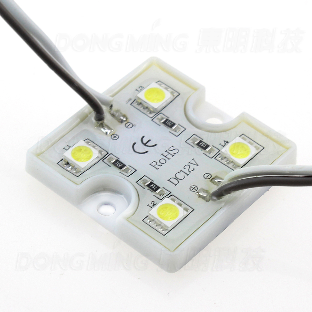 New 3leds 5050 smd led modules DC 12V led pixel modules waterproof IP65 led modules outdoors ad lights led modules