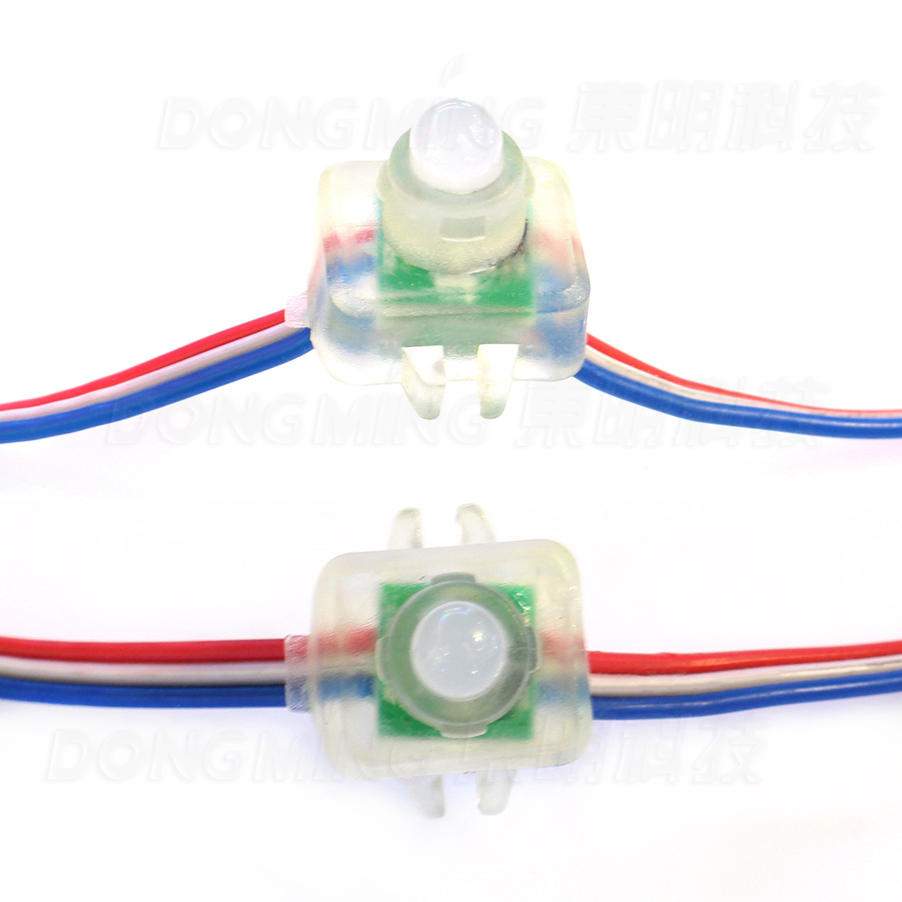 DC5V RGB LED Module String Waterproof IP68 LED Channel Letter 100pcs/lot 12mm led module light