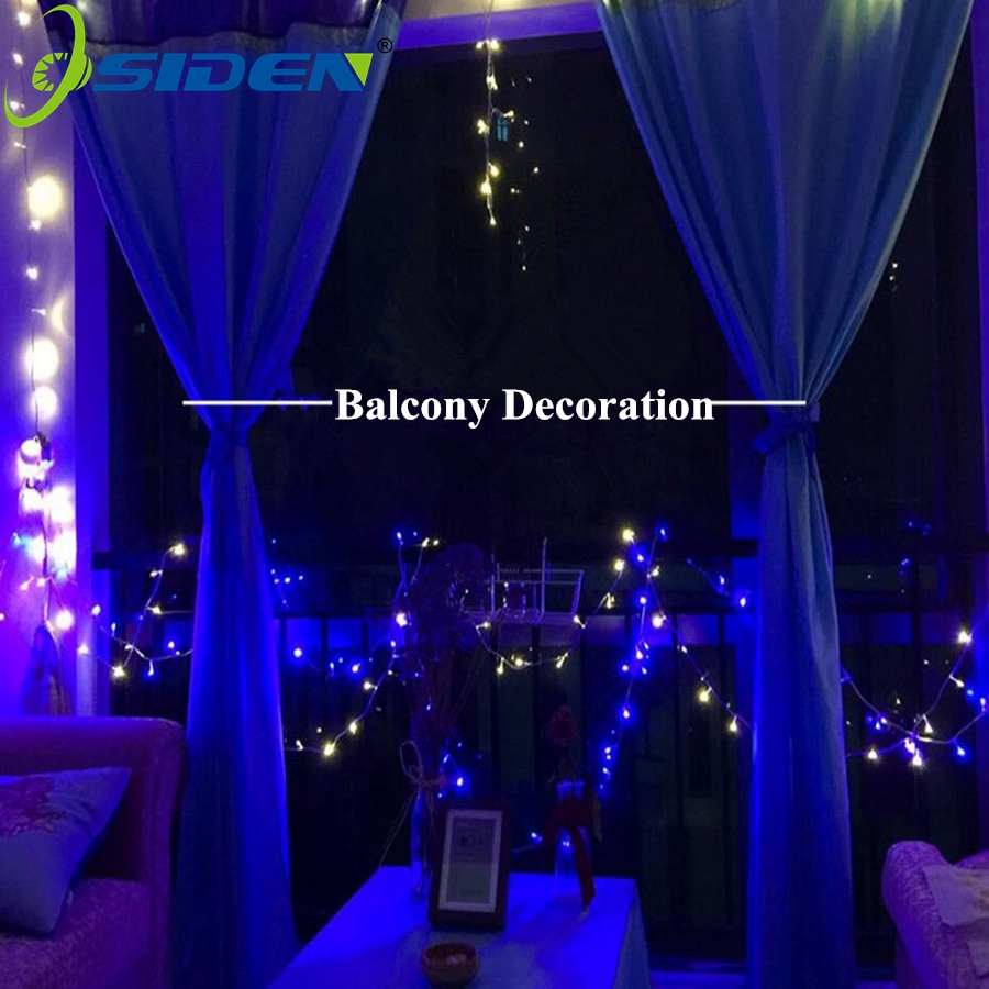 OSIDEN Led Strings Light Garland AC220V110V 10M 100led 20M50M Christmas Holiday Wedding Party Decoration LED Fairy Lights Lamps