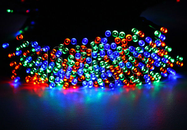 22M 200 LED Solar Powered Outdoor New Year Garlands Christimas String Fairy Garden Decoration Solar Lamps Wedding Lights HK C-30