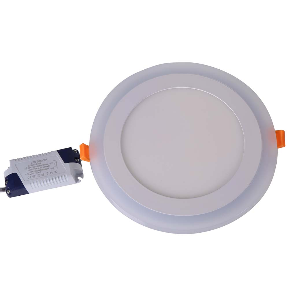 Downlights Devoted Ultra Thin Led Ceiling Panel Light 6w 9w 16w 24w Led Downlight Round Square Two Color Panel Light Recessed Indoor Spot Light Ceiling Lights & Fans