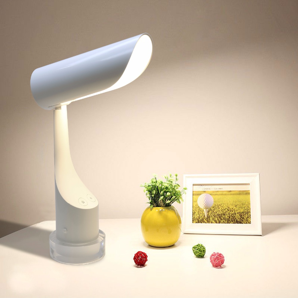2017 Portable LED Desk Lamp Foldable Dimmable Eye Care Reading Touch Sensor USB Charging Port Table Lamp
