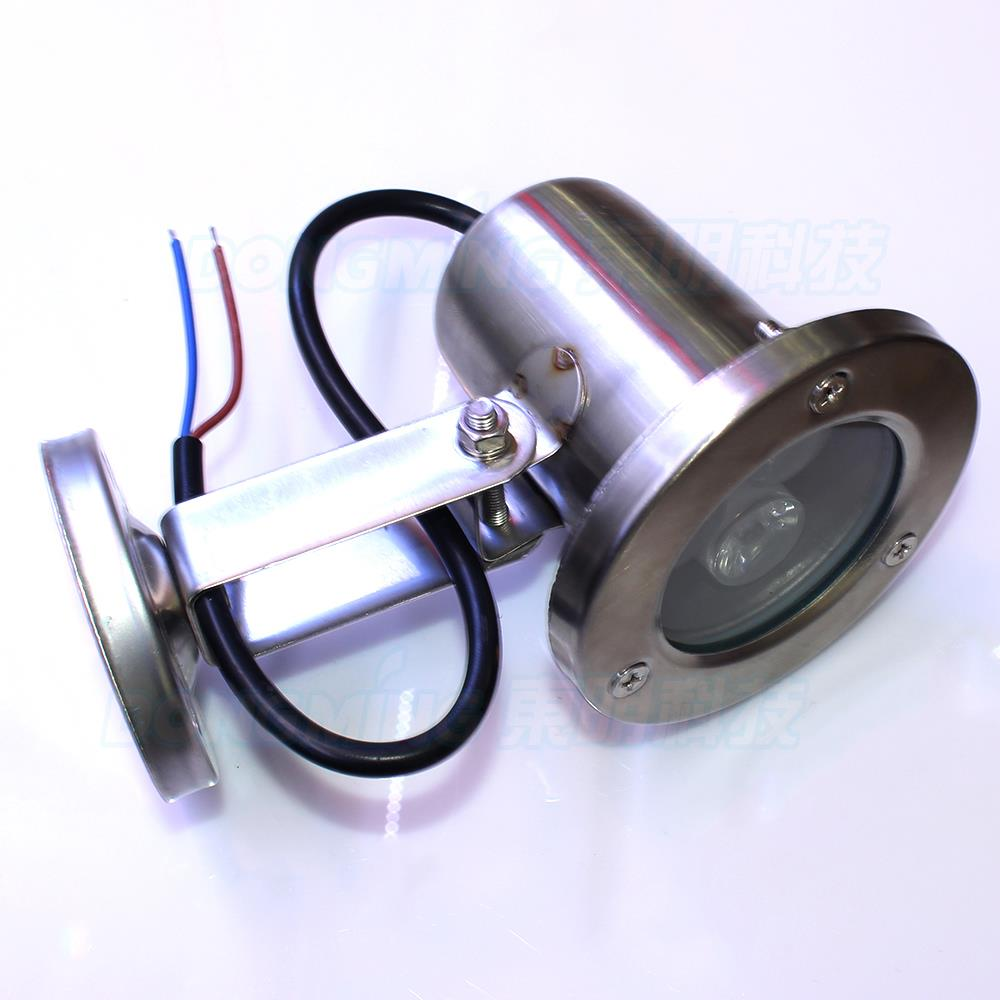 Wholesale stainless steel sheel flat lens 3w 85-265v pool lights float warm/cool white underwater led strip outdoor lighting
